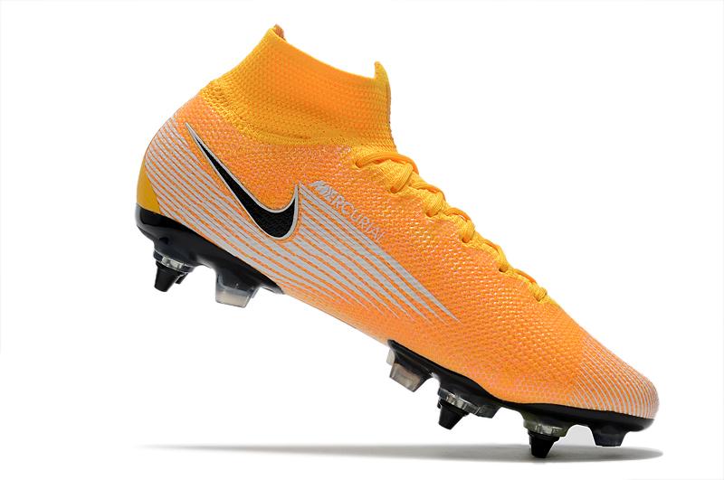 Nike Mercurial Superfly 7 Elite SG-PRO AC Yellow White Inside