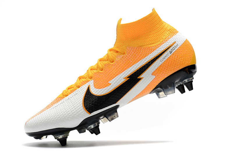 Nike Mercurial Superfly 7 Elite SG-PRO AC Yellow White Left sid