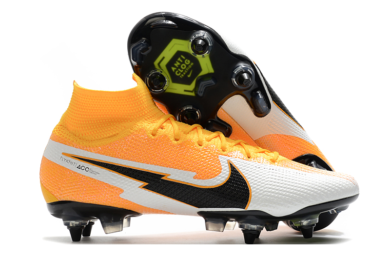 Nike Mercurial Superfly 7 Elite SG-PRO AC Yellow White Sell