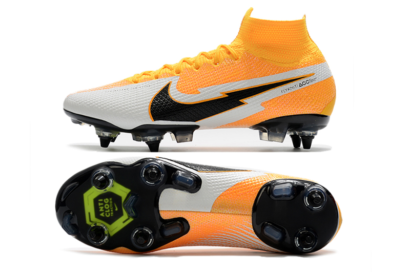 Nike Mercurial Superfly 7 Elite SG-PRO AC Yellow White Sole