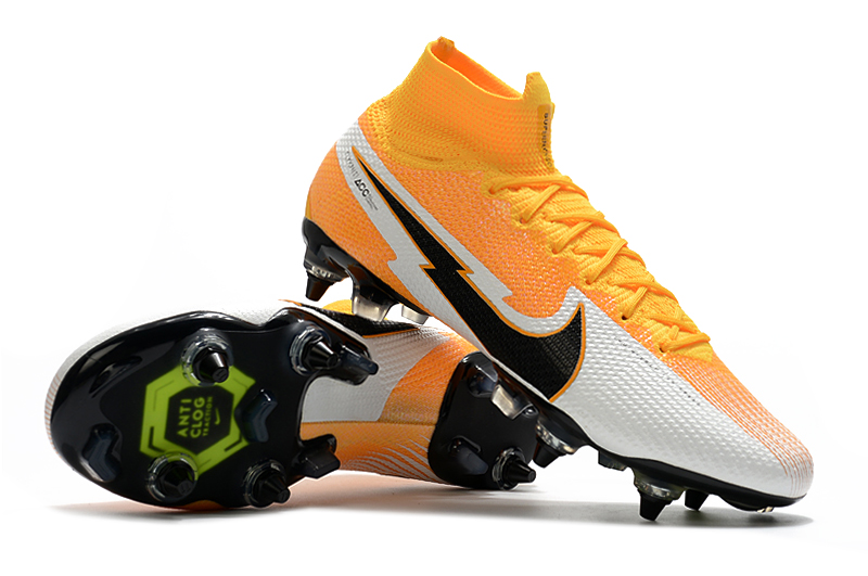 Nike Mercurial Superfly 7 Elite SG-PRO AC Yellow White right