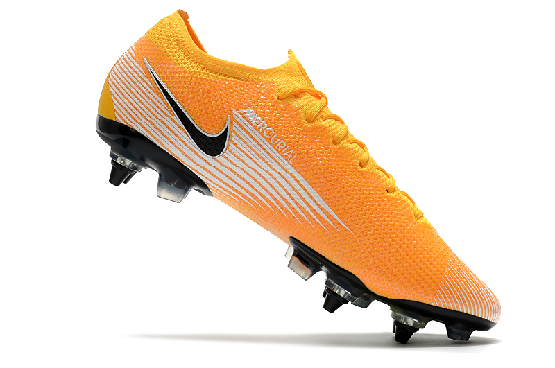 Nike Mercurial Vapor 13 Elite SG-PRO AC Yellow White Inside