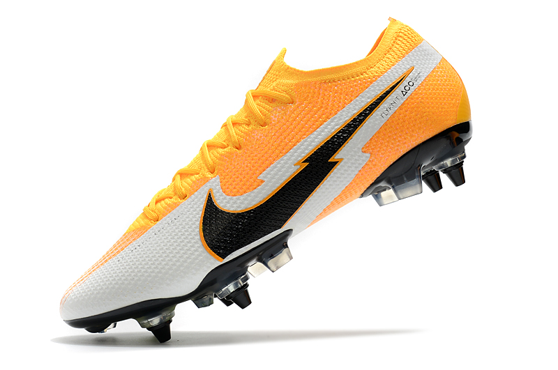 Nike Mercurial Vapor 13 Elite SG-PRO AC Yellow White Left sid