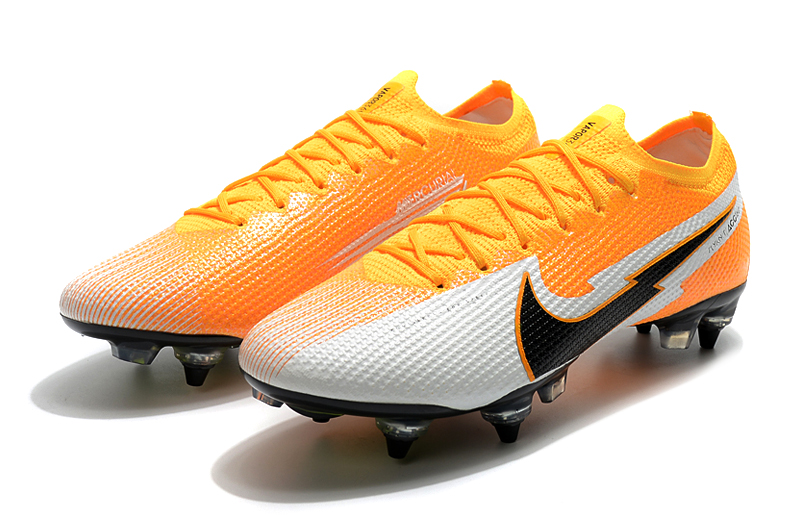 Nike Mercurial Vapor 13 Elite SG-PRO AC Yellow White panel