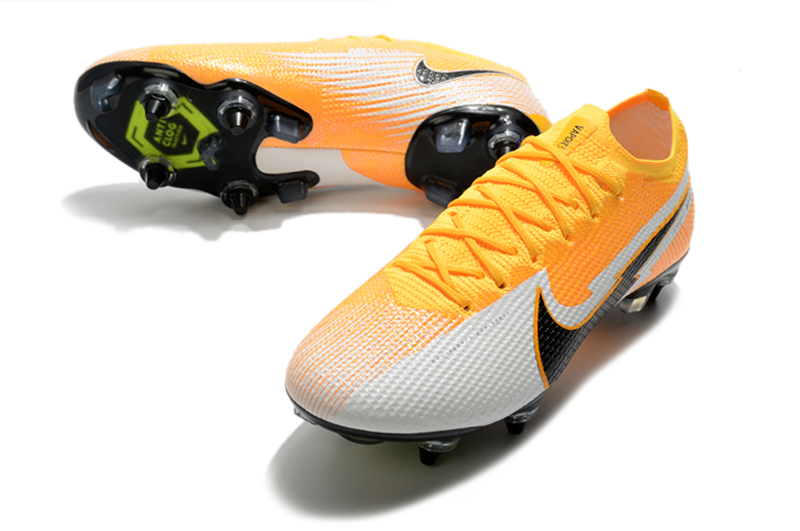 Nike Mercurial Vapor 13 Elite SG-PRO AC Yellow White vamp