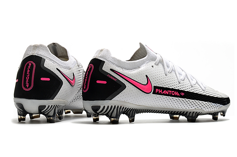 Nike Phantom GT Elite FG black and white Heel