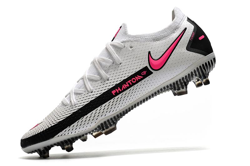 Nike Phantom GT Elite FG black and white Left sid