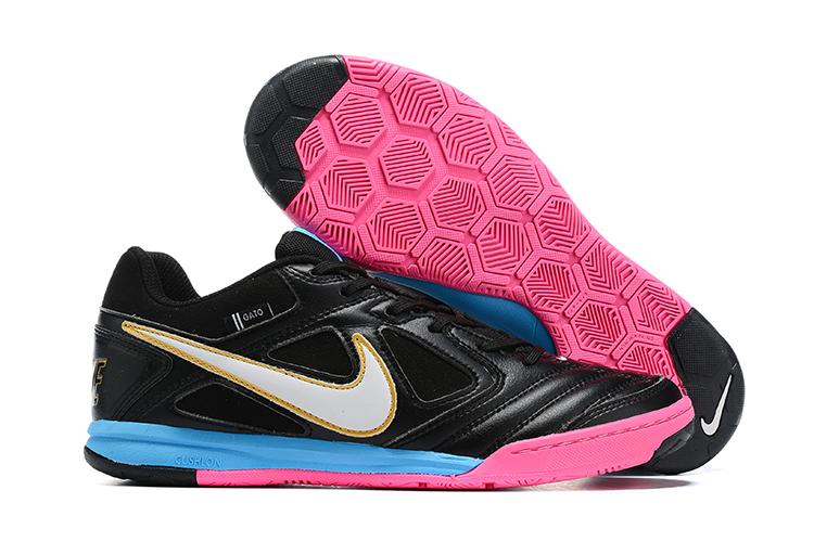 Supreme x Nike SB Gato-Black Blue Pink Outside