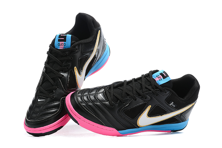 Supreme x Nike SB Gato-Black Blue Pink Upper