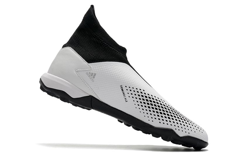adidas PREDATOR 20.3 LacelessTF Black White Silver