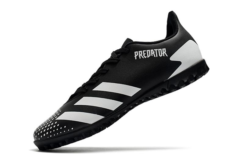 adidas Predator 20.4 TF black white Left sid