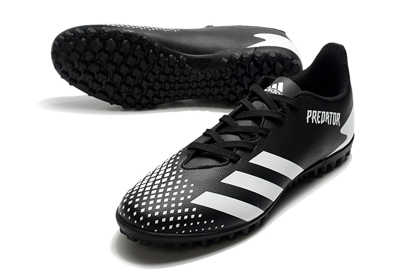 adidas Predator 20.4 TF black white Upper