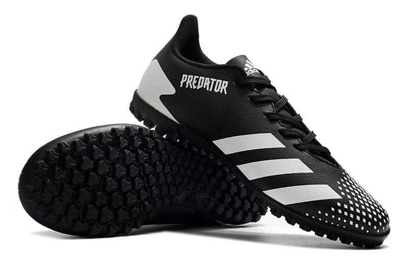 adidas Predator 20.4 TF black white right