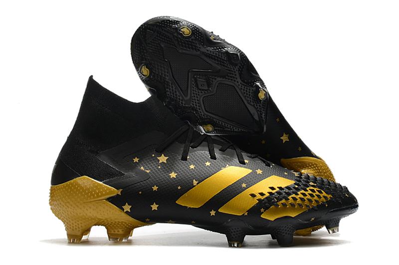 adidas Predator Mutator 20.1 FG Black Gold Yellow side