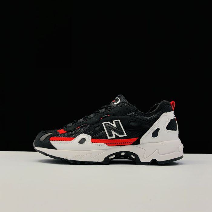 New Balance ML827HH black white red Left sid
