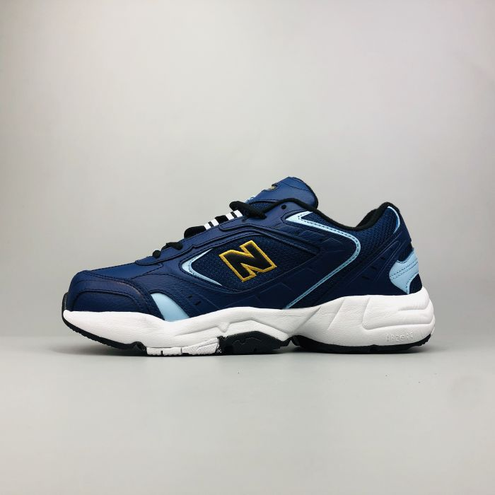 New Balance WX452SW blue running shoes