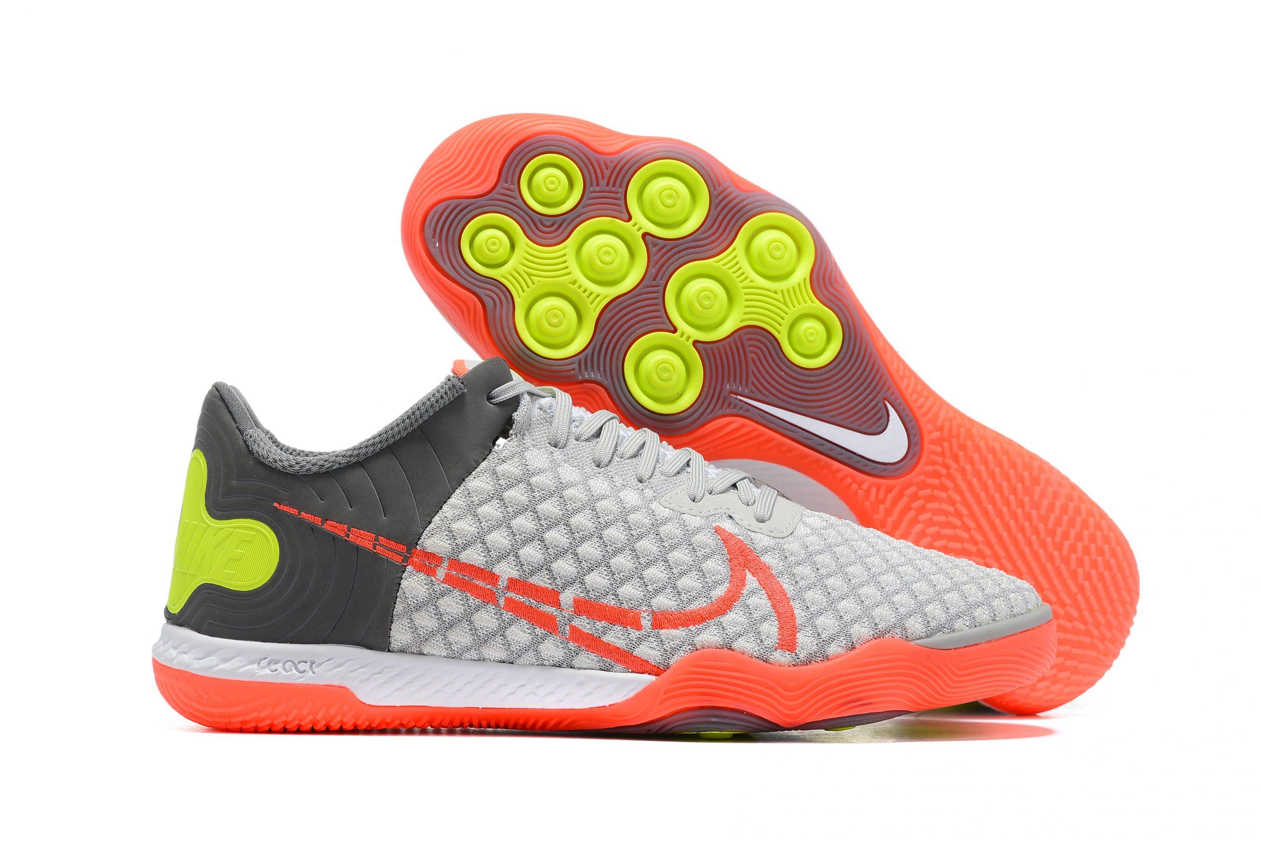 Nike Reactgato IC Gray Red Outside