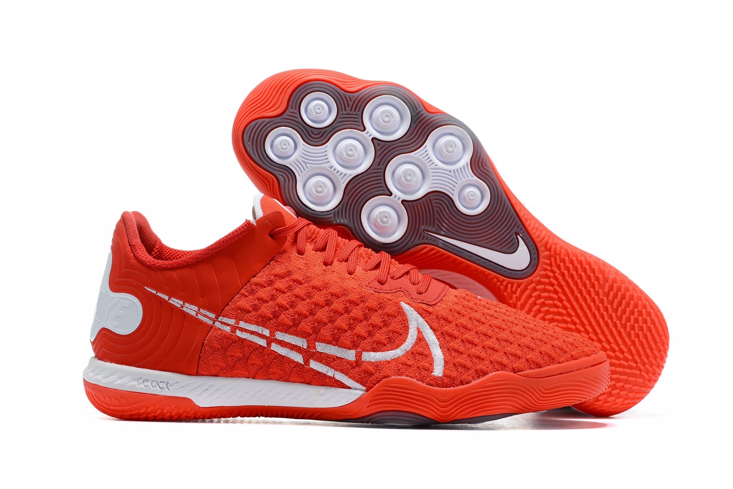 Nike Reactgato IC red football boots Outside
