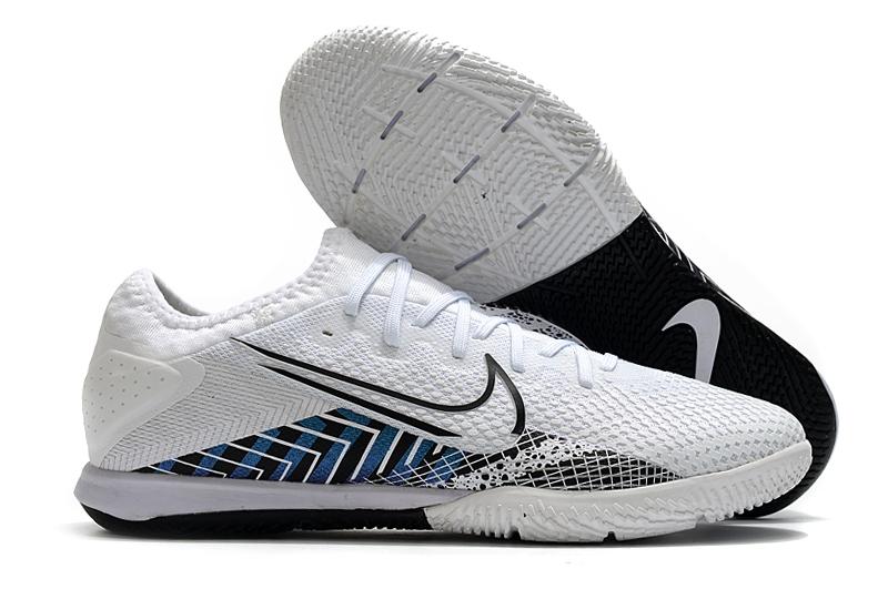 Nike Vapor 13 Pro IC black and white football boots Outside