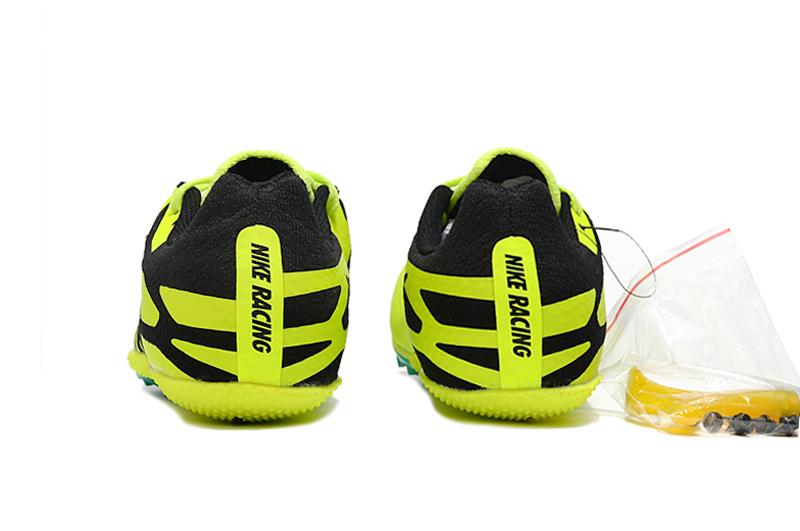 Nike Zoom Rival S9 yellow black Heel