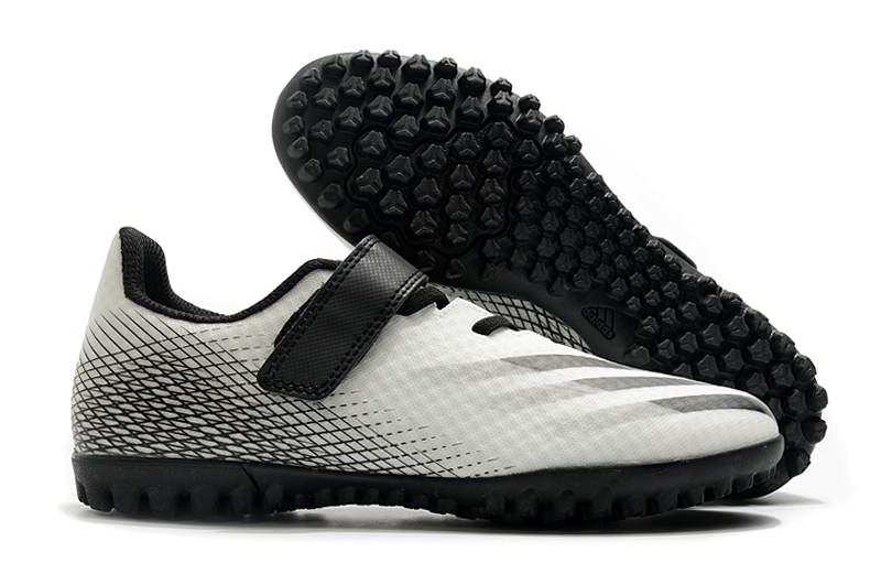 2020 Adidas X20.4TF Black and White Football Boots side