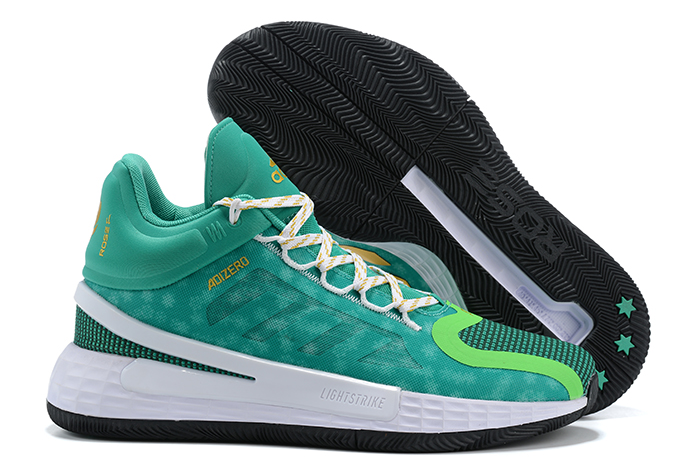 2020-adidas-D-Rose-11-Christmas-Green-Metallic-Gold-White-For-Sale-1