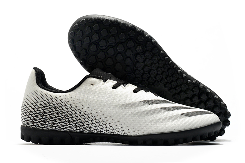 Adidas X20.4TF football boots black and white football boots free shipping side
