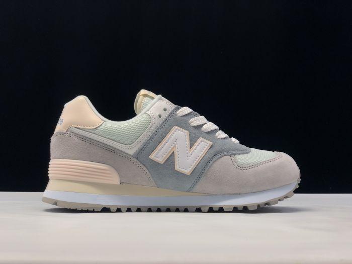 New Balance M574LBR retro fashion sneakers jogging shoes Outside