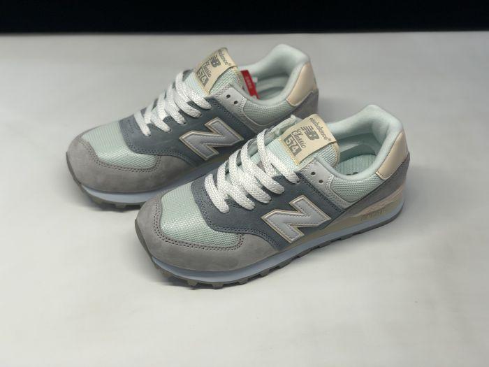 New Balance M574LBR retro fashion sneakers jogging shoes Upper