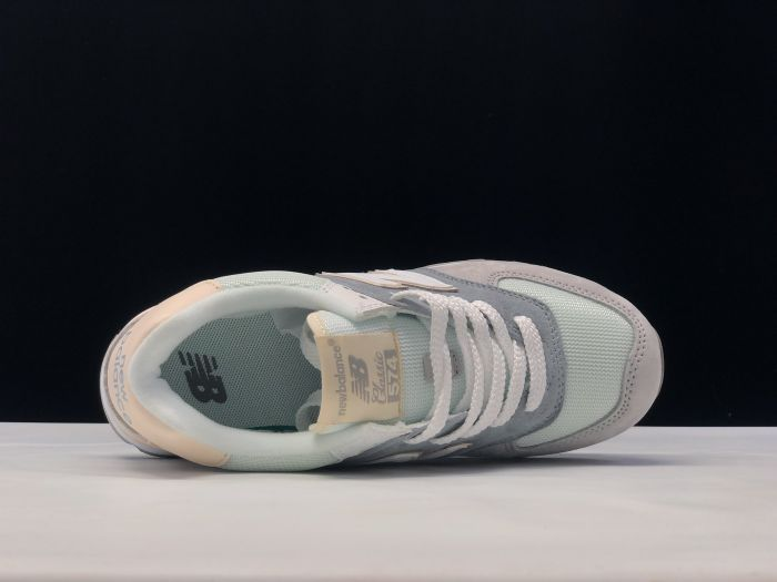 New Balance M574LBR retro fashion sneakers jogging shoes inside of