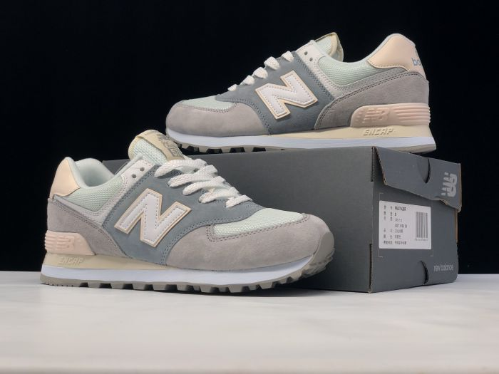 New Balance M574LBR retro fashion sneakers jogging shoes right