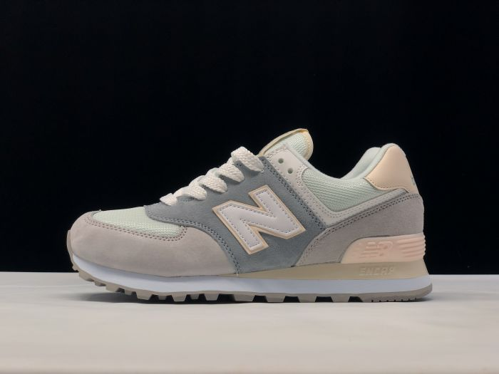 New Balance M574LBR retro fashion sneakers jogging shoes side
