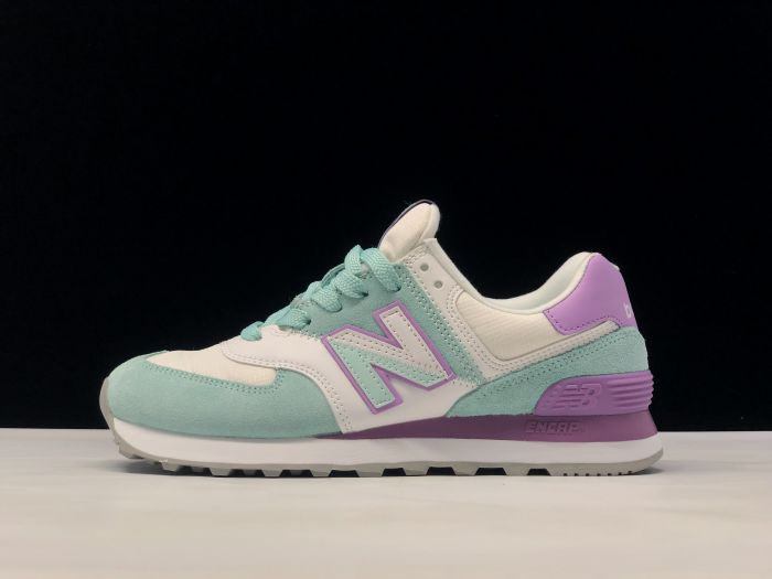 New Balance M574NHB retro fashion sneakers couple shoes side