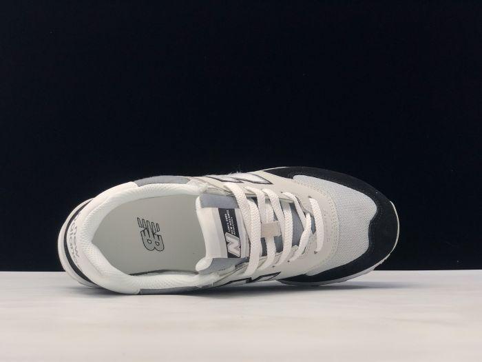 New Balance M574NLC Retro Fashion Sports Shoes Couple Shoes inside of