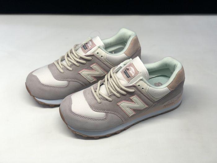 New Balance M574SAX retro fashion sneakers jogging shoes Upper