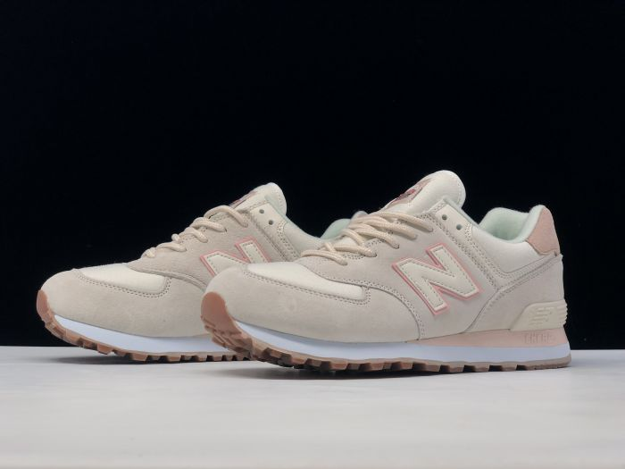 New Balance M574SAY retro casual sports jogging shoes Left sid