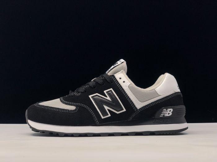 New Balance M574SSN black retro fashion sneakers couple shoes Outside
