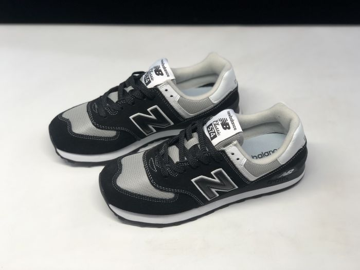 New Balance M574SSN black retro fashion sneakers couple shoes Upper