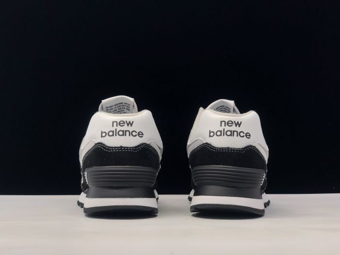 New Balance M574SSN black retro fashion sneakers couple shoes after heel