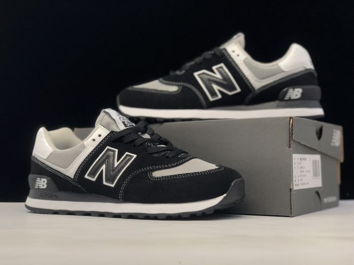 New Balance M574SSN black retro fashion sneakers couple shoes right