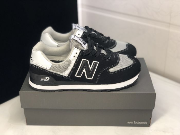 New Balance M574SSN black retro fashion sneakers couple shoes