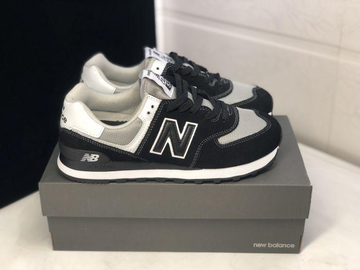 New Balance M574SSN black retro fashion sneakers couple shoes