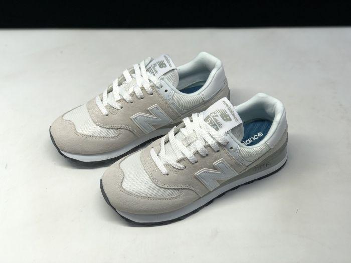 New Balance ML574EGW retro casual sports jogging shoes side
