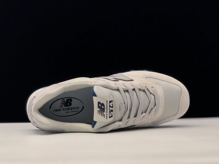 New Balance ML574JFH retro casual sports jogging shoes inside of