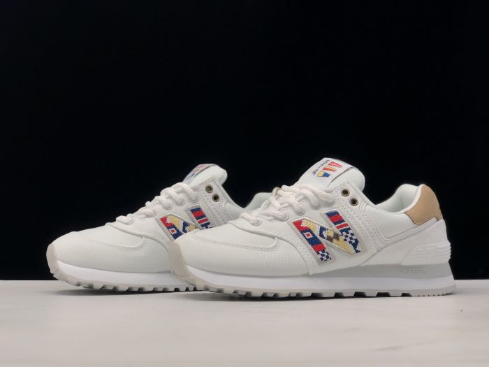 New Balance ML574SOD retro casual sports jogging shoes couple shoes Left sid