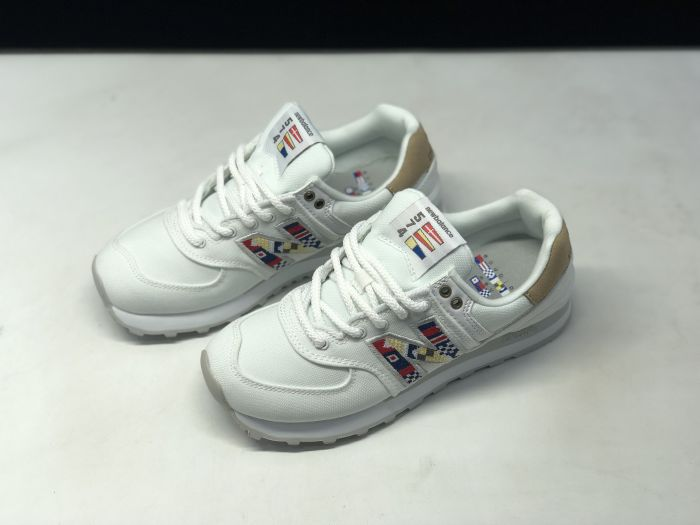 New Balance ML574SOD retro casual sports jogging shoes couple shoes Upper