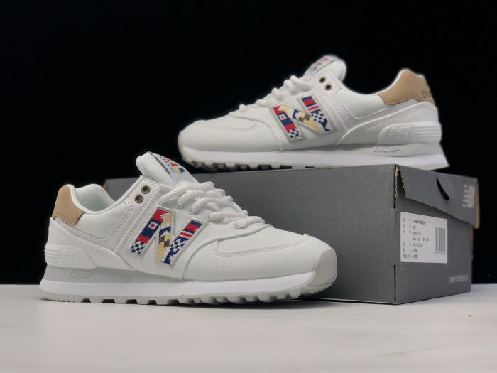 New Balance ML574SOD retro casual sports jogging shoes couple shoes right