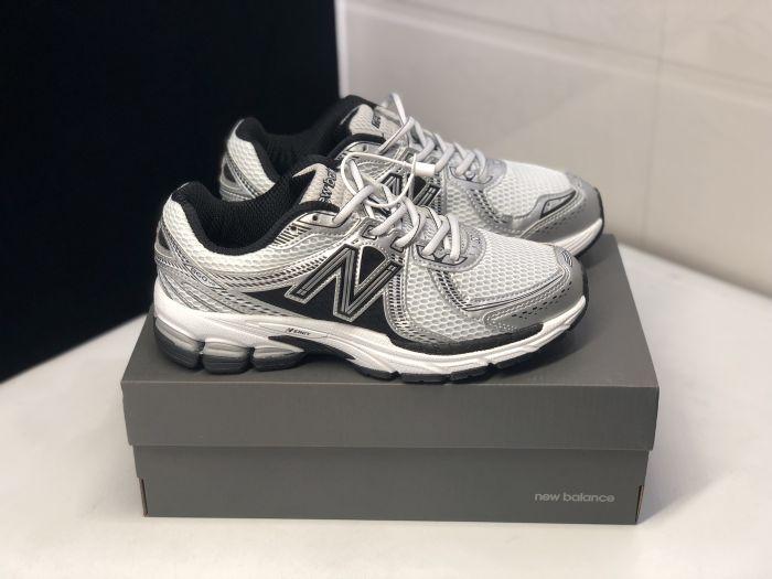 New Balance ML860XD black white gray