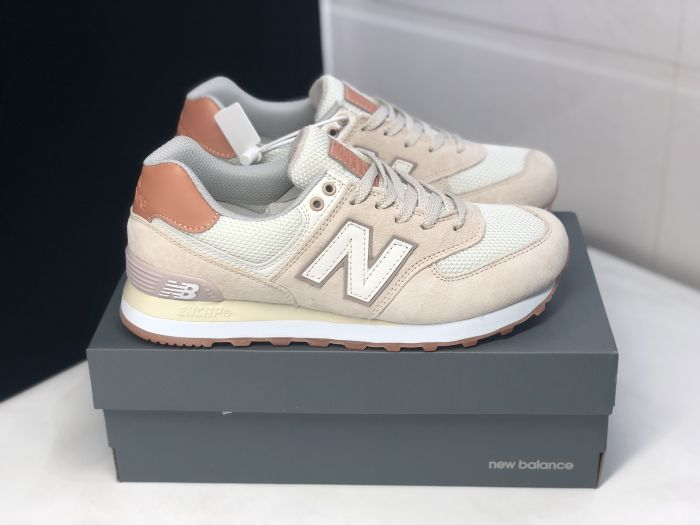 New Balance W574BNV retro casual sports jogging shoes