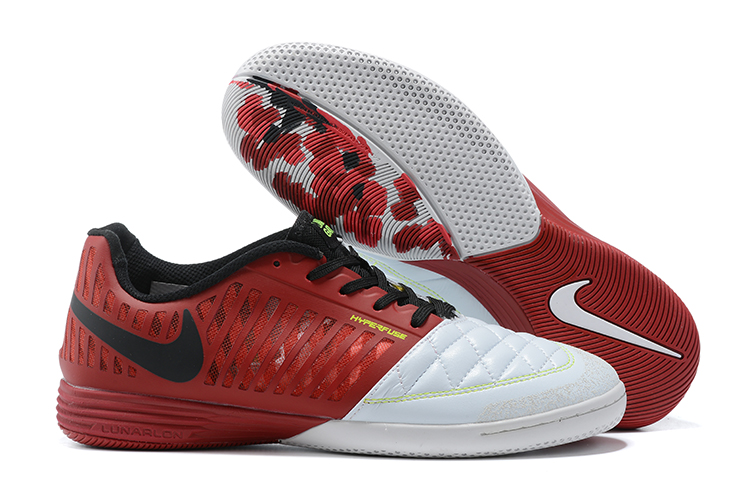 New Nike Lunar Gato II I red and white football shoes Outside